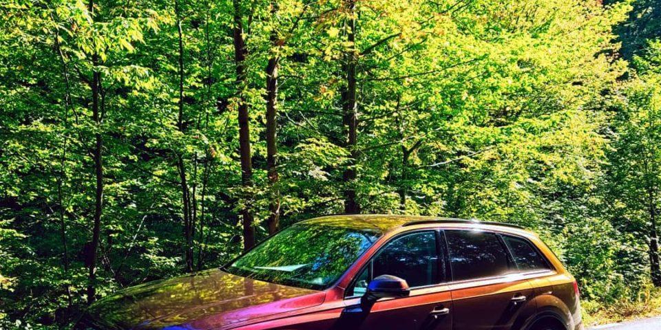Audi Q7 Wrap
